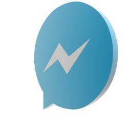 Мессенджер Facebook GIF ожидания