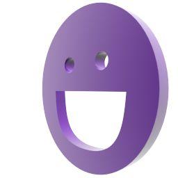 Логотип мессенджера Yahoo анимация загрузки