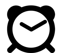 Alarm clock loading GIF