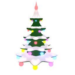 Вращающаяся рождественская елка прелодер