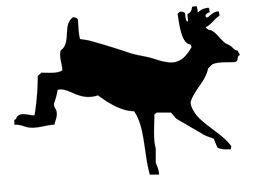 Running deer loading icon
