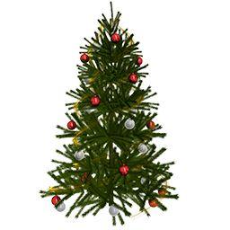 Реалистичная рождественская елка GIF загрузки