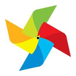 Pinwheel GIF spinner