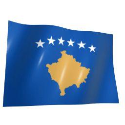 Флаг Косово анимация загрузки