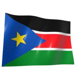 Флаг Южного Судана иконка загрузки