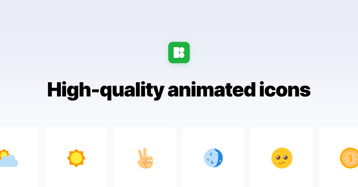 Animated Icons – 900+ High Quality Animated Icons