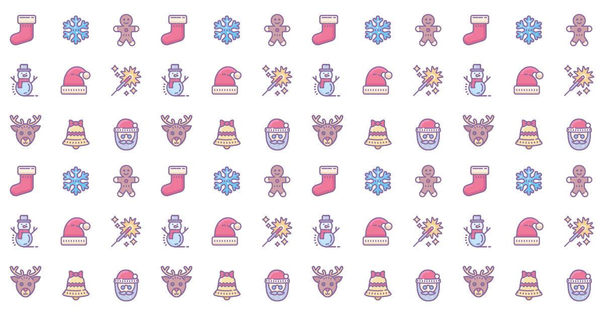How To Create Seamless Christmas Pattern Step By Step Tutorial