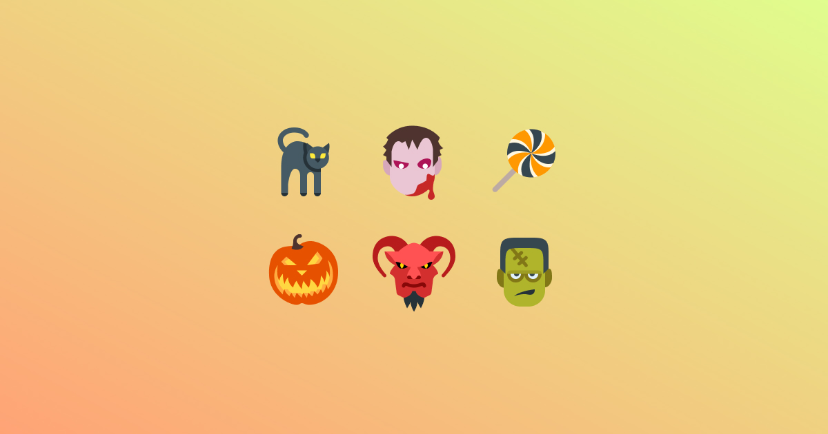 Trick Or Treat 19 Packs Of Free Halloween Clipart And Icons Icons8 Blog