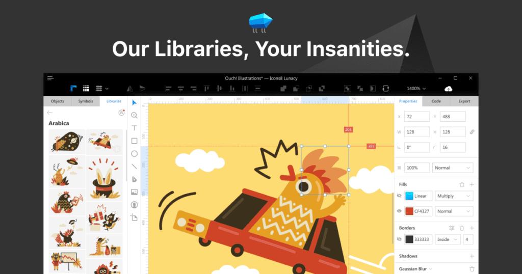 lunacy free graphic design software