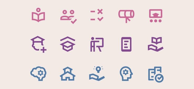 Material Design Icons: 15 Icon Packs in 5 Styles