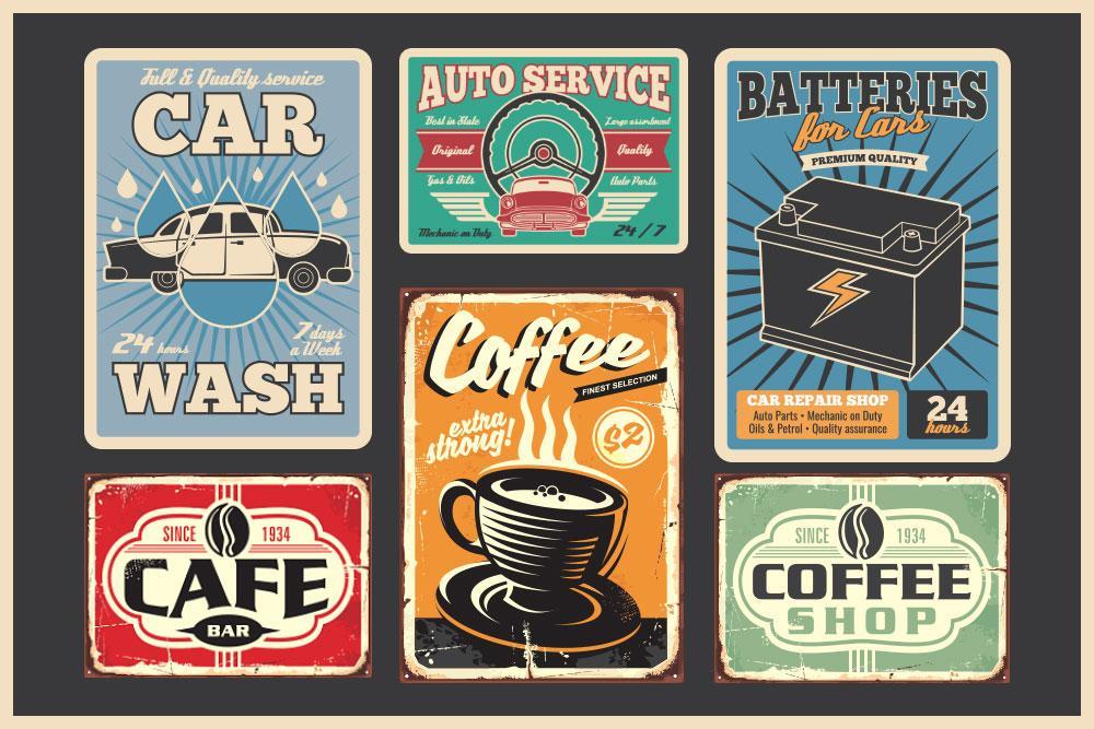 Vintage Art Design WHB17 - AGBC