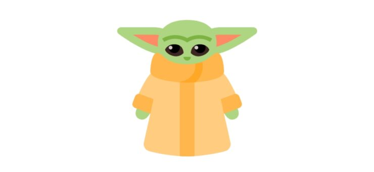 Available It Is: Get Much Requested Icon of Baby Yoda