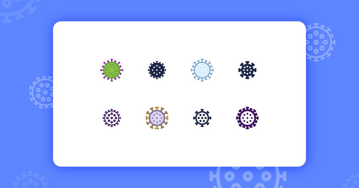coronavirus graphics freebie