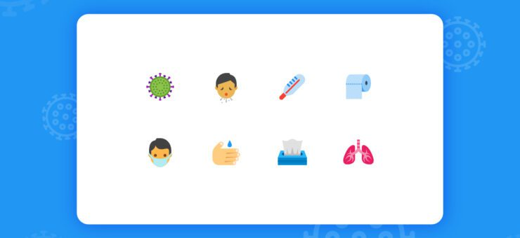 Design Freebie: Free SVG Icons on Coronavirus in Different Styles