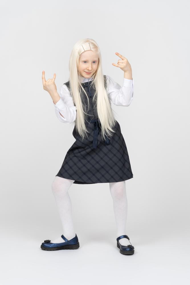 girl blonde photo