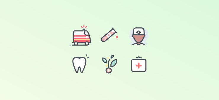 Alive and Kicking: 20 Packs of Medical Clipart and Icons