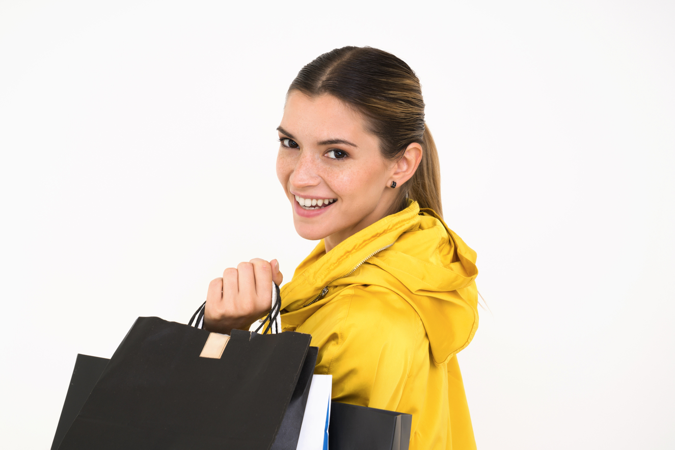 shopping woman user experience design