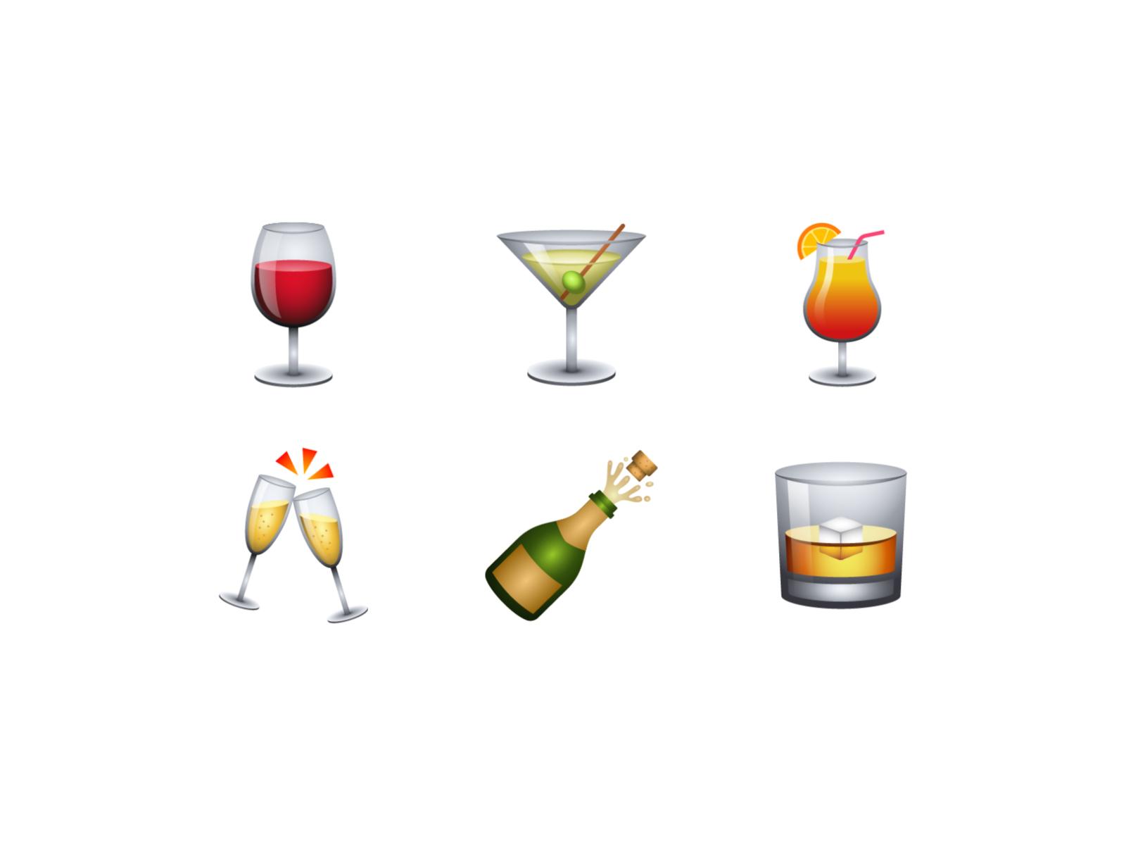 food and drink emoji