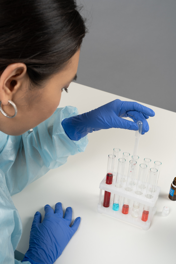 laboratory researcher stock photography