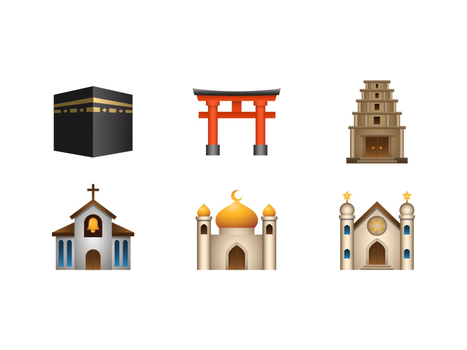 places emoji