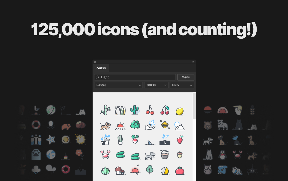 adobe plugin by icons8