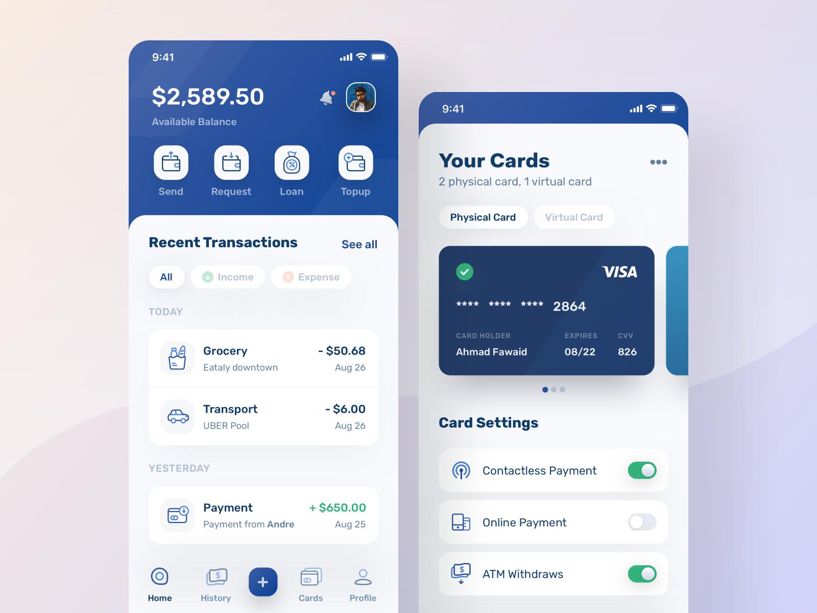 konsep desain aplikasi keuangan