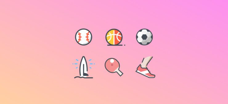 Fit and Active: 21 Packs of Sports Clipart and Icons
