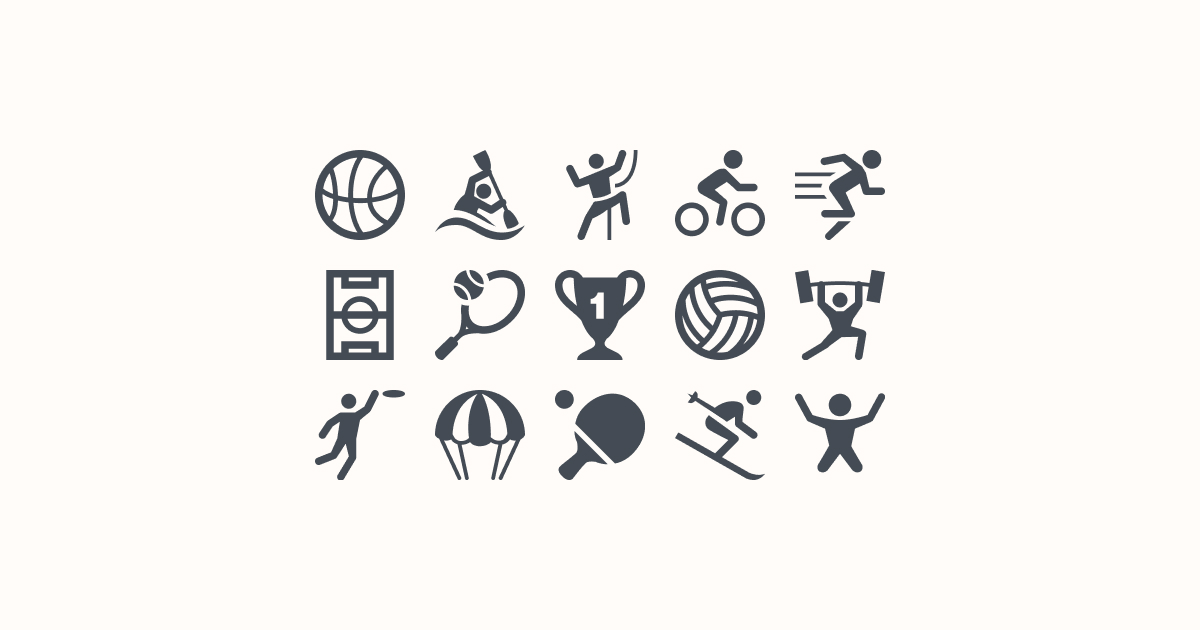 sports clipart icons ice-cream