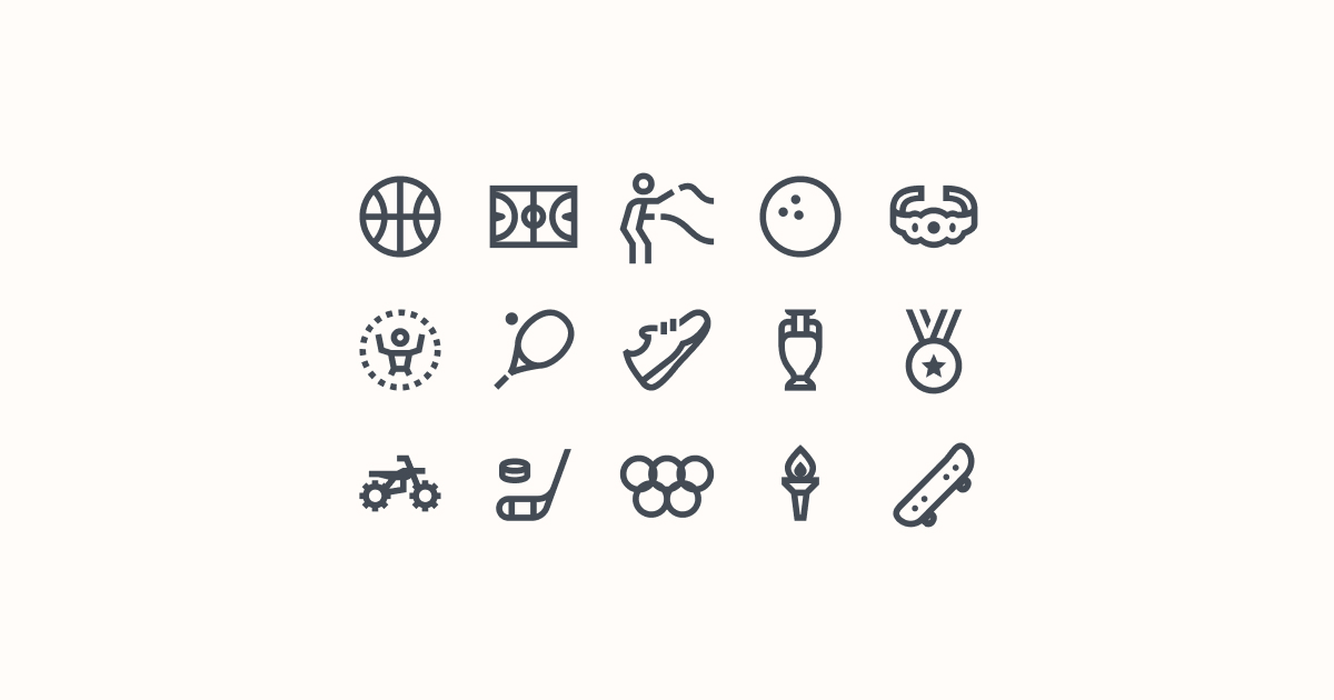 sports clipart icons windows-10