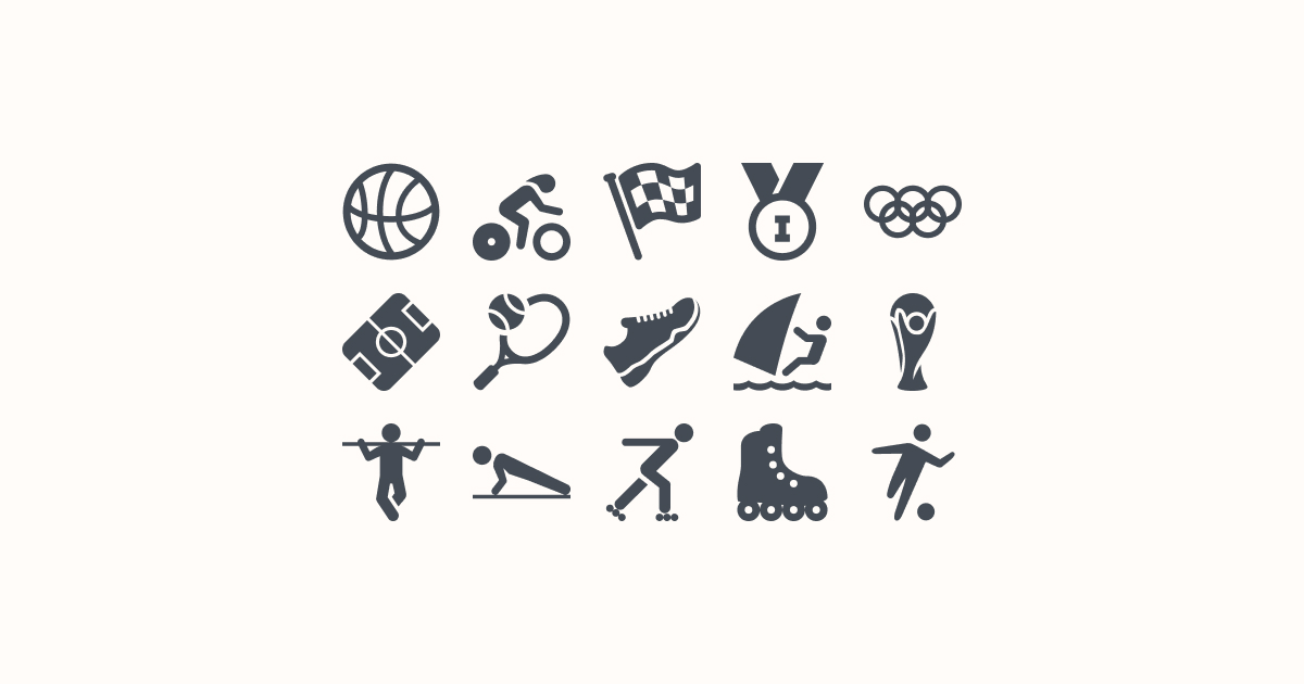 sports clipart icons windows-metro