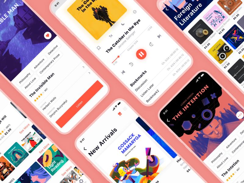 audiobook store app