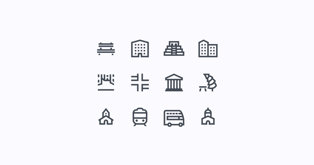 city clipart icons windows-10