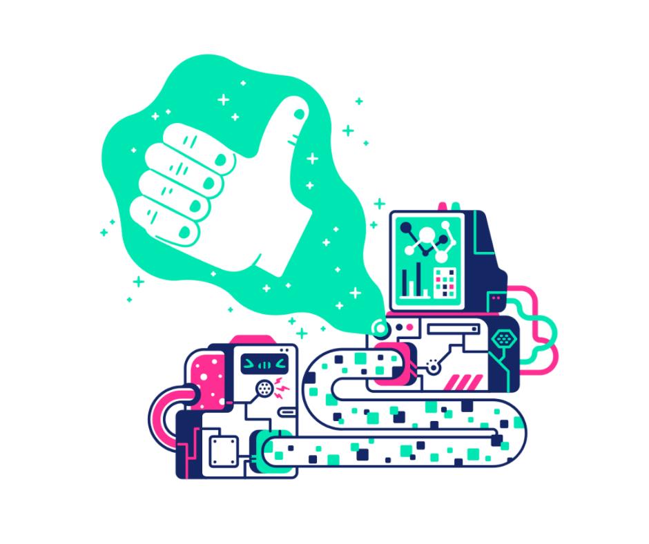 cyborg new illustration style