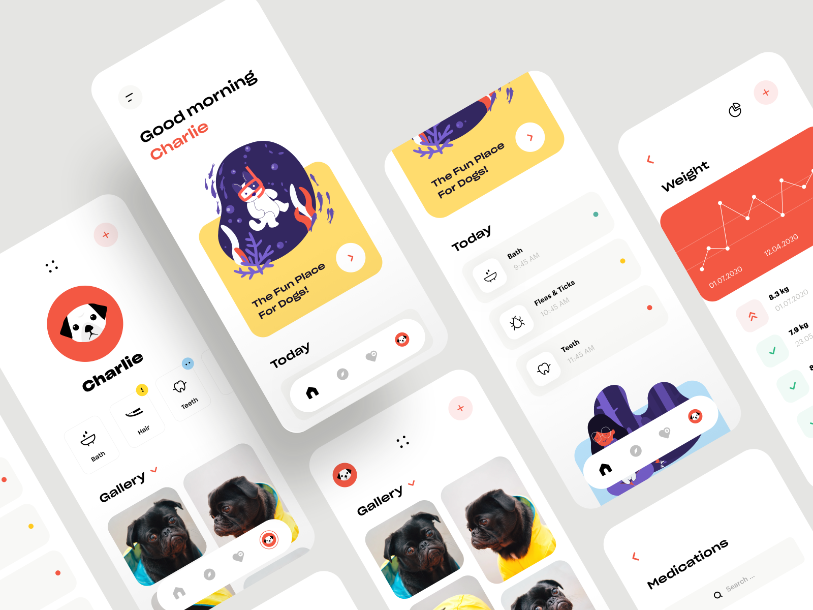 illustrations in UI
