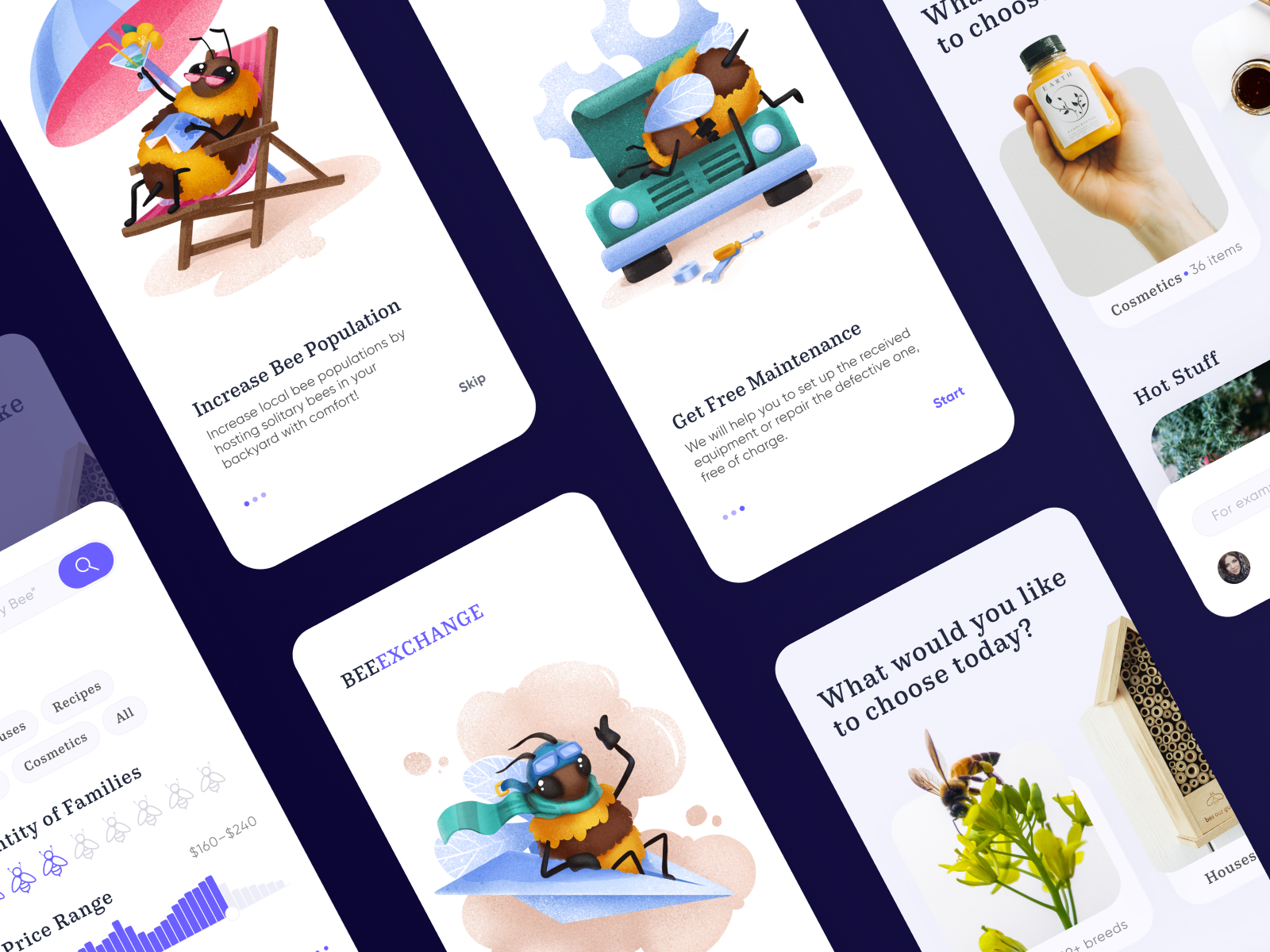 mobile app bees