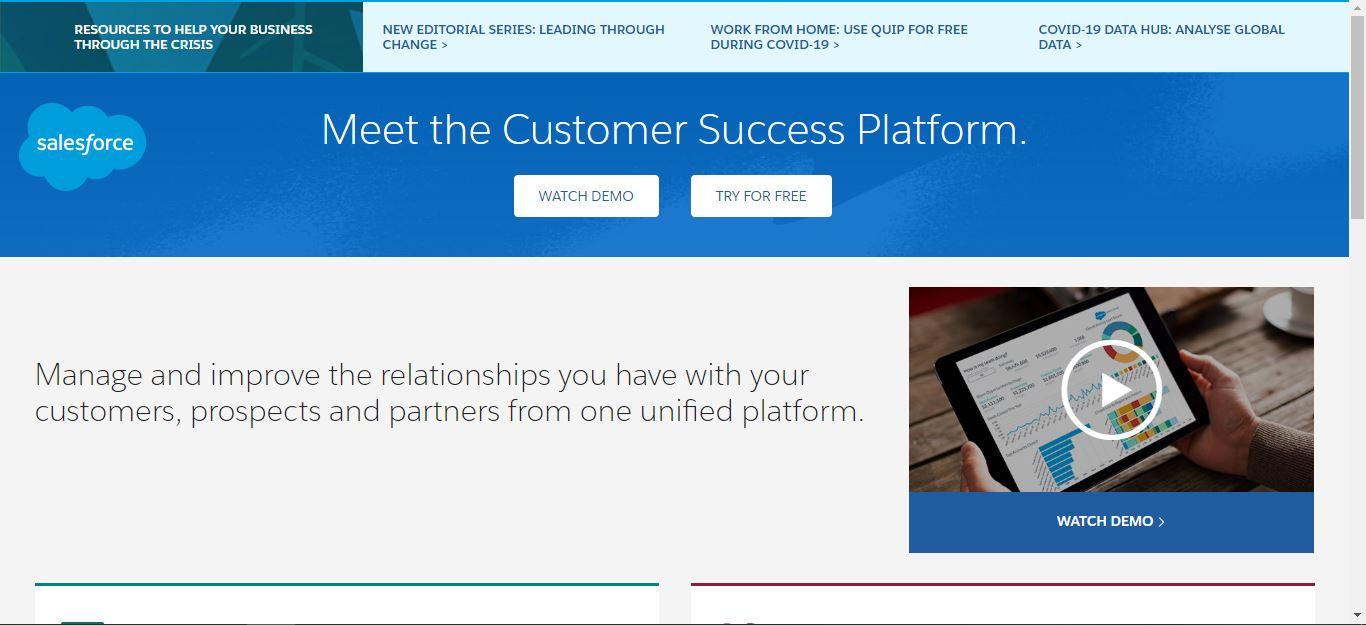 salesforce ui design examples