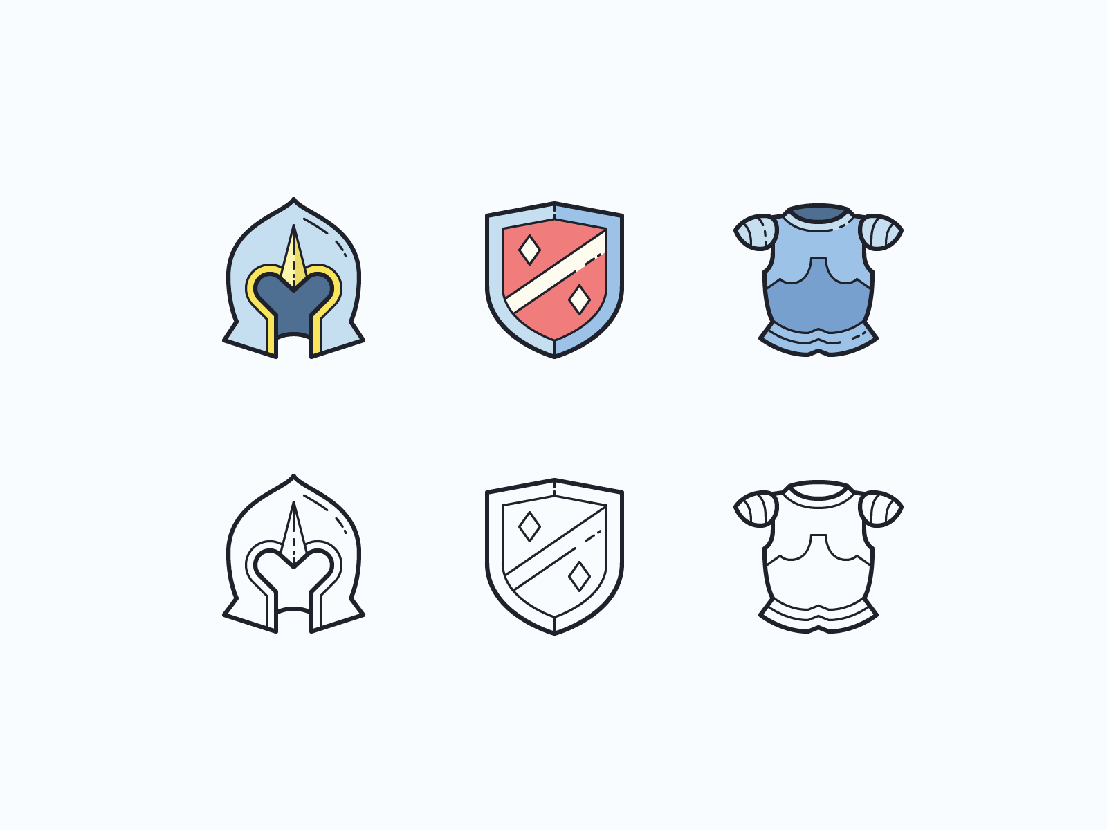 armour culture icons