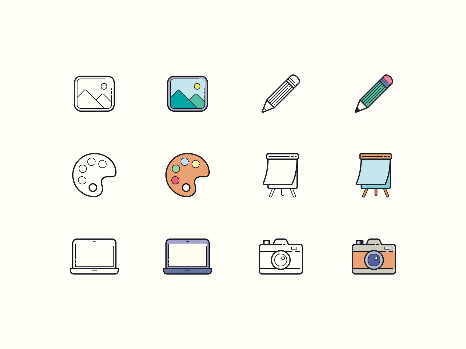 art design icons