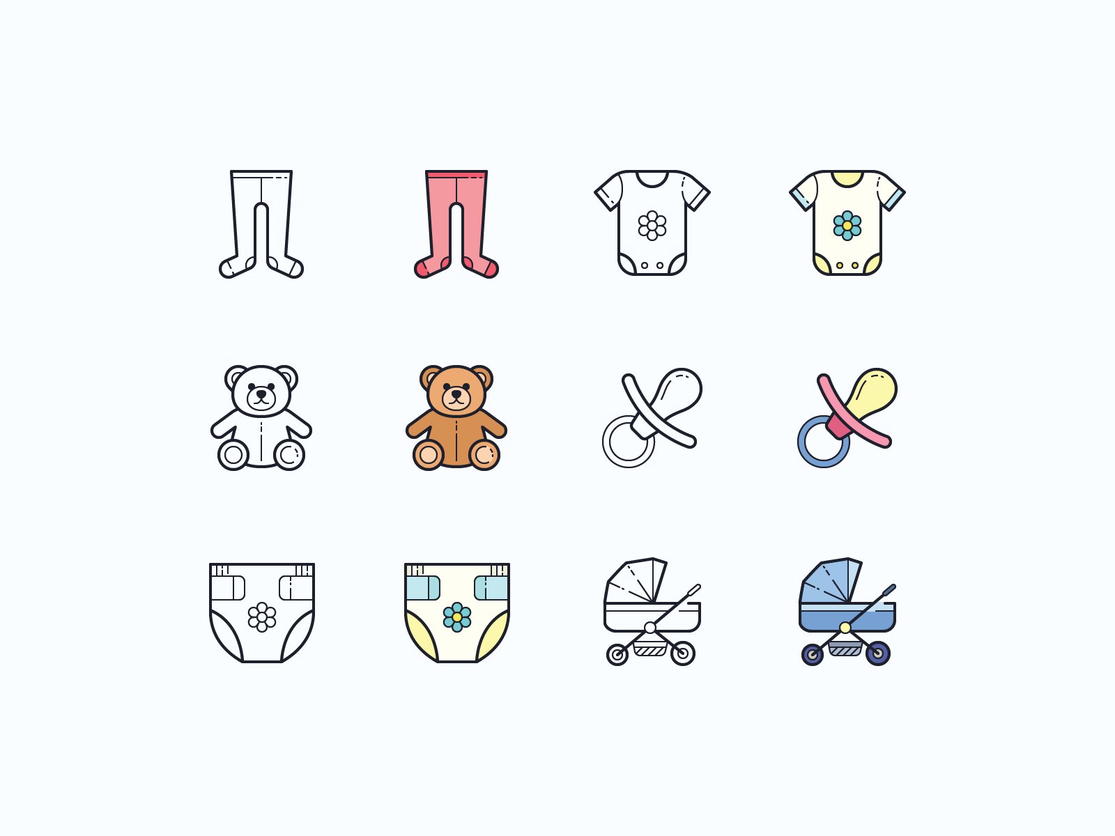 baby icons