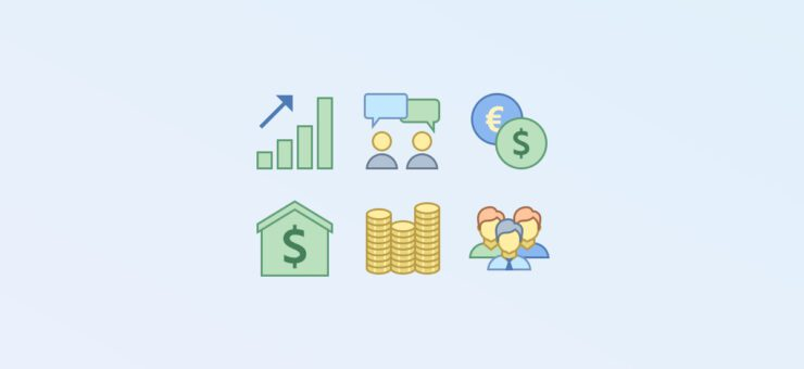 Busy Bee: Business Clipart and Icons in 24 Design Styles