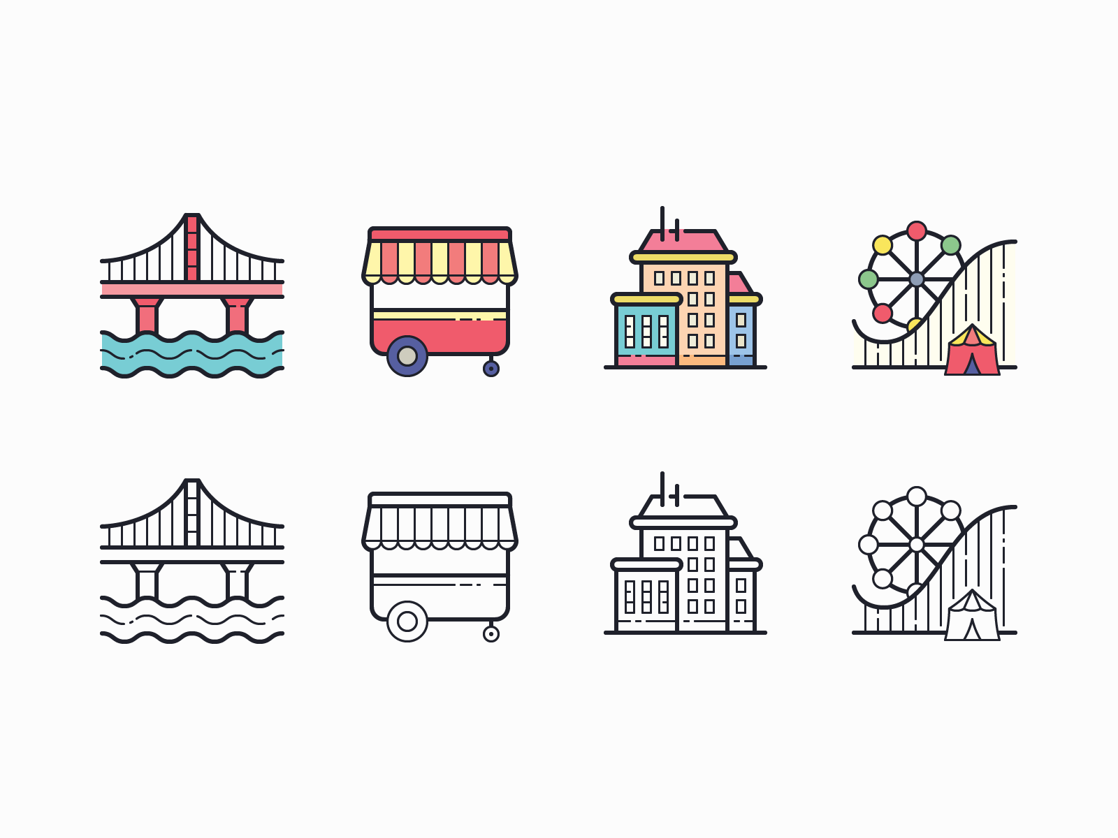 35 Packs of Outline and Color Icons in Hand Drawn Style - Icons8 Blog