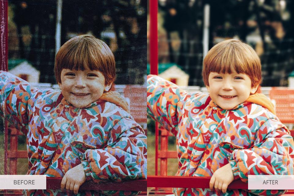 damaged photo restoration services