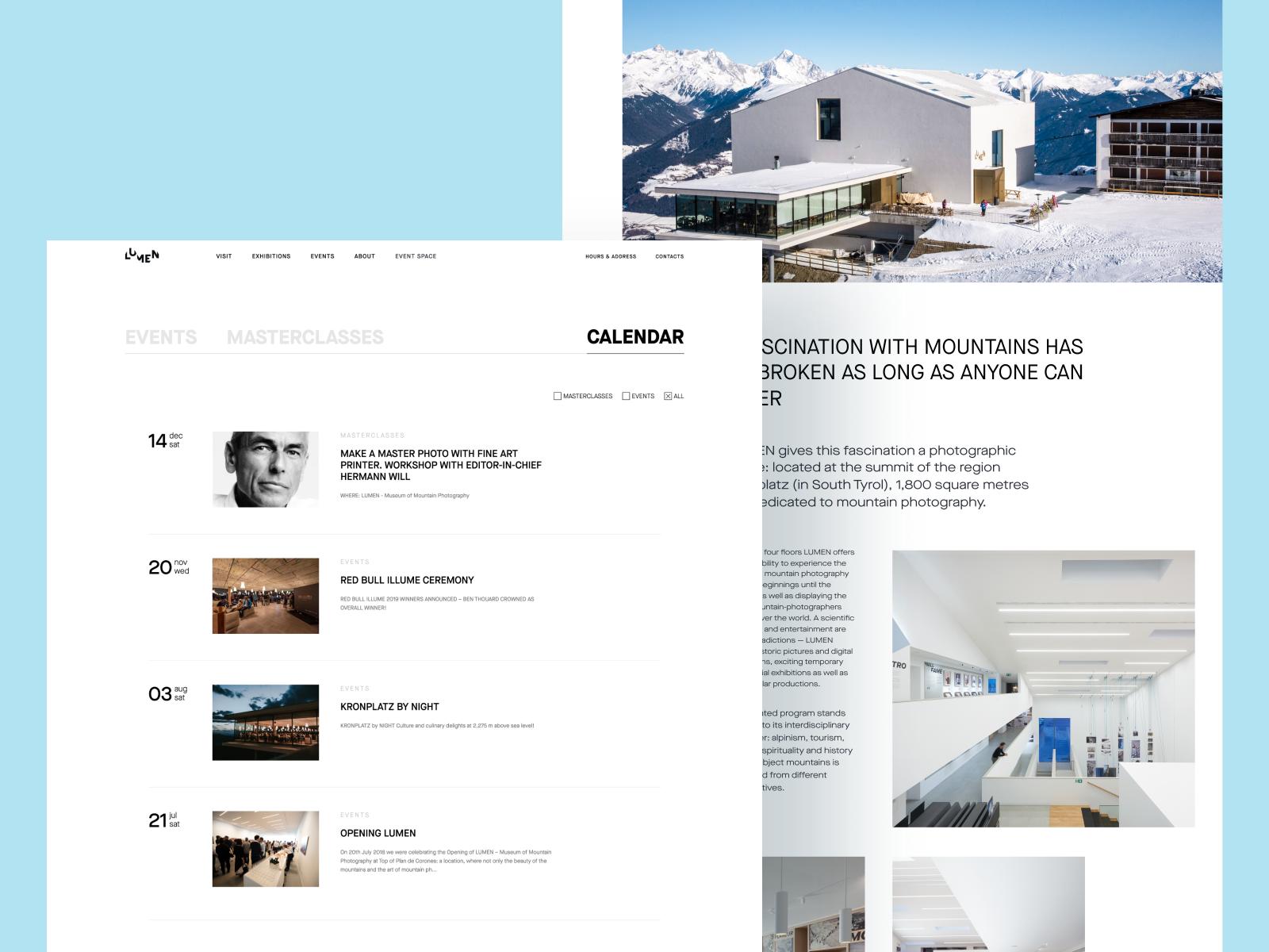 web design minimalism
