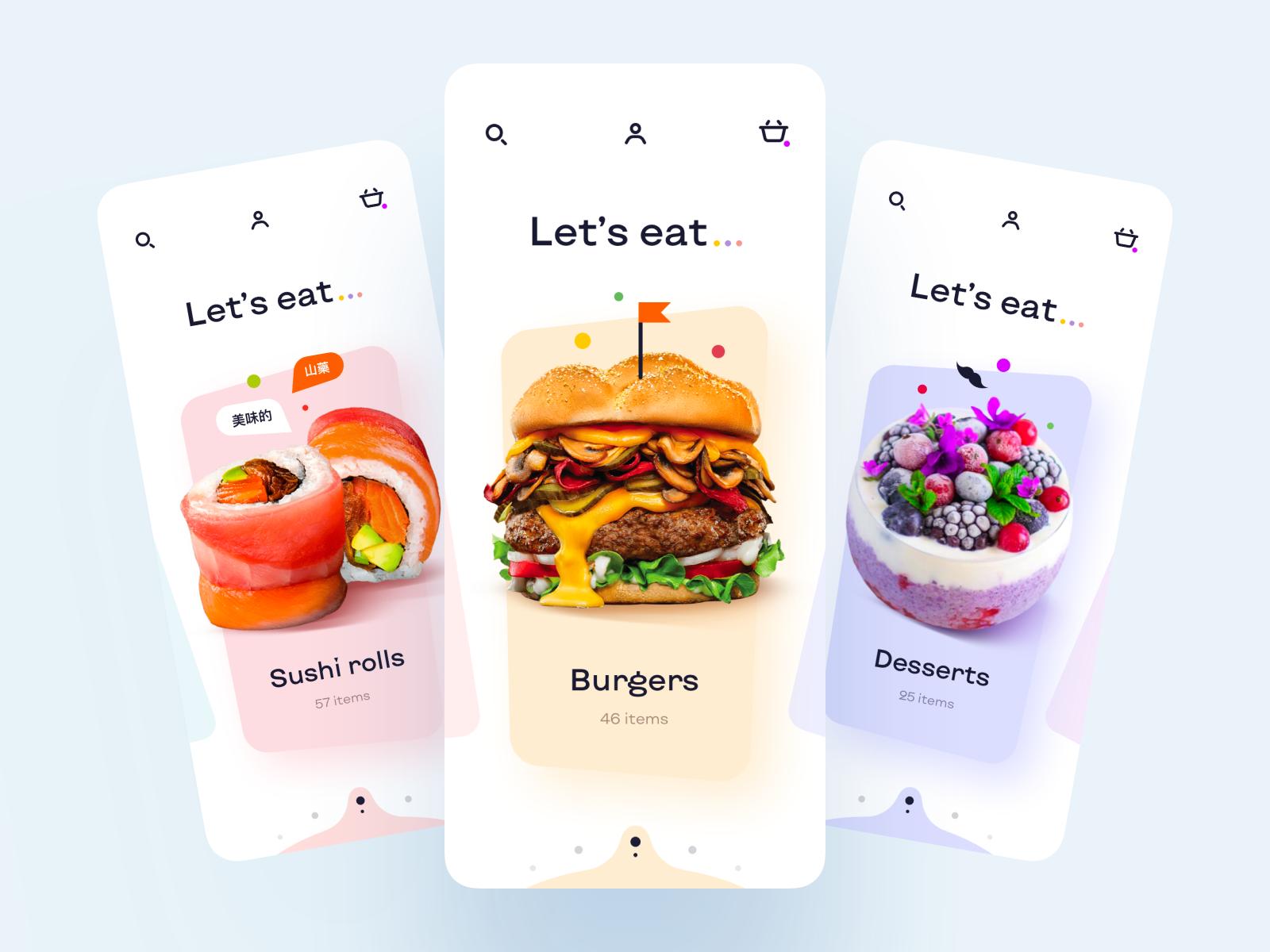 mobile illustrations