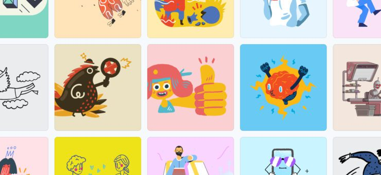 Ouch Illustrations 2.0: Professional Vectors for Any Design Goals