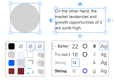 suggestion panels in Lunacy