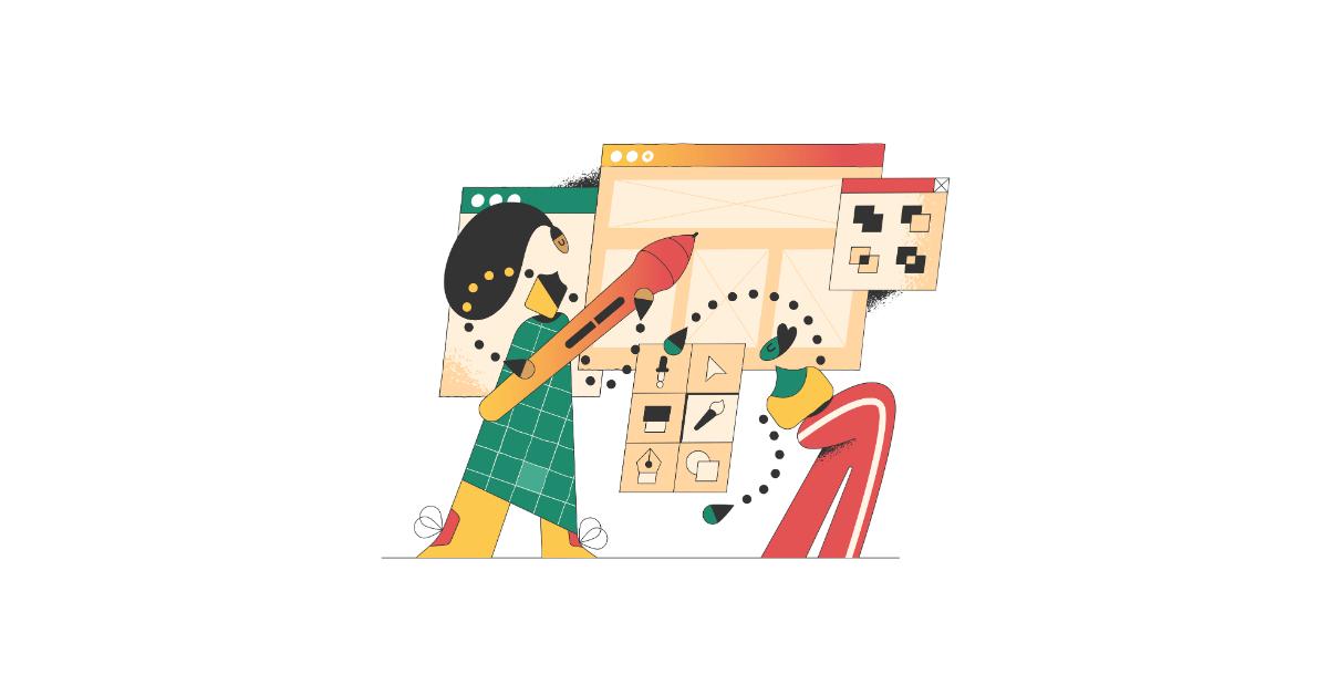 conifer design illustration