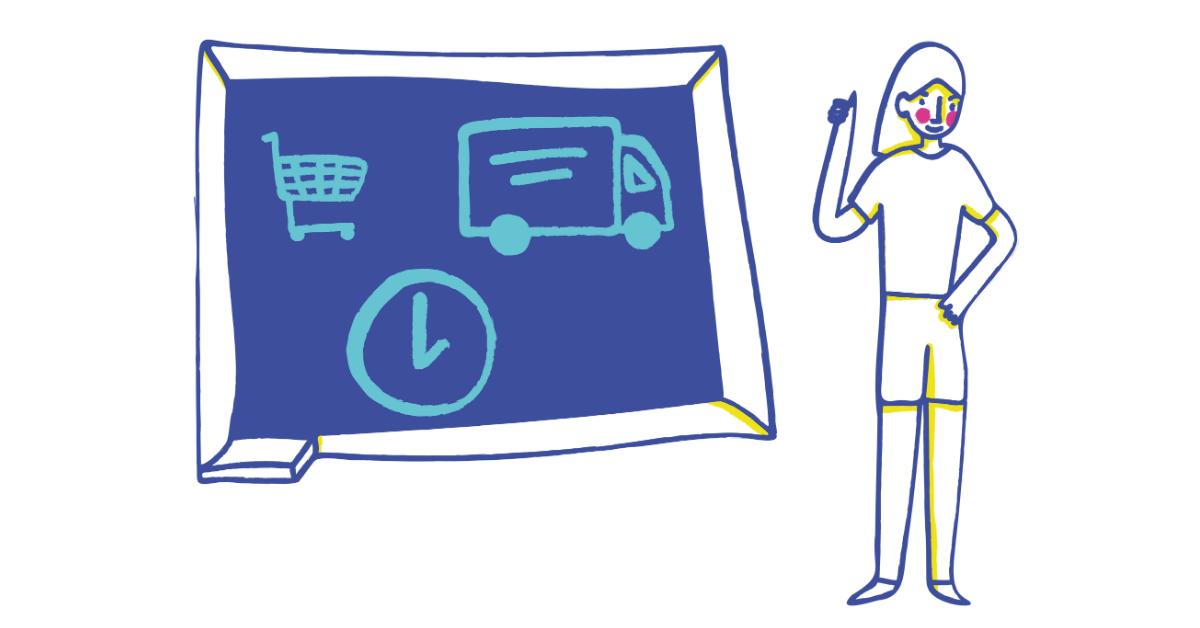 lime ecommerce illustration