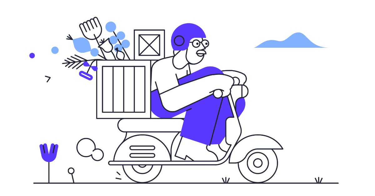 pablita delivery illustration