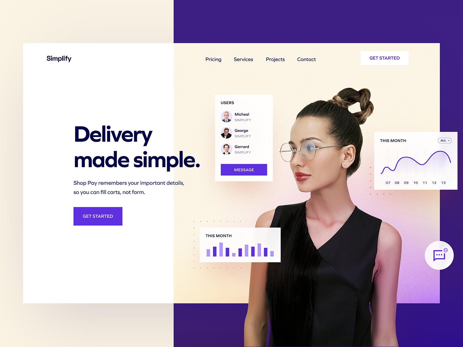ui design web page